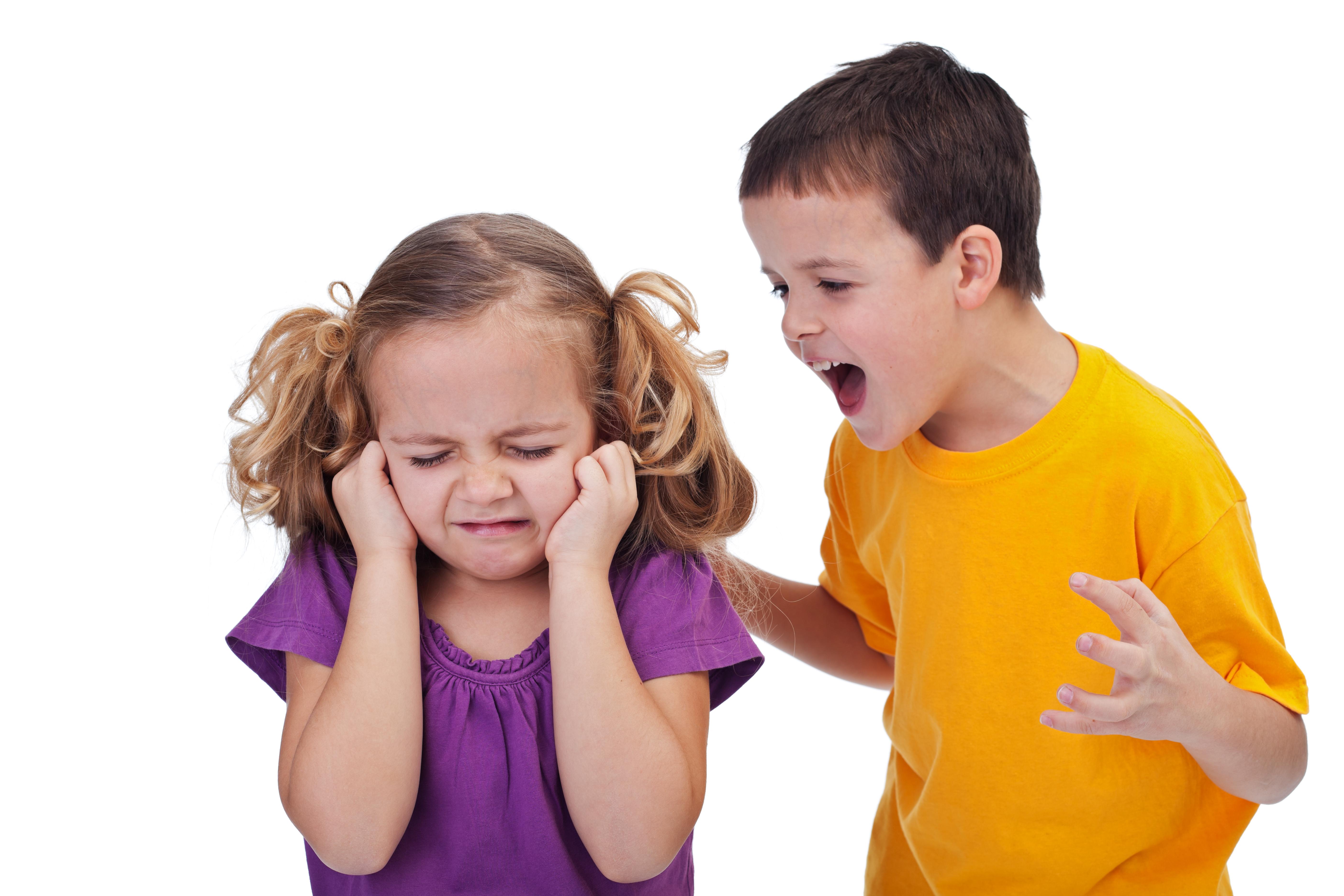 Дети кричат друг на друга фото