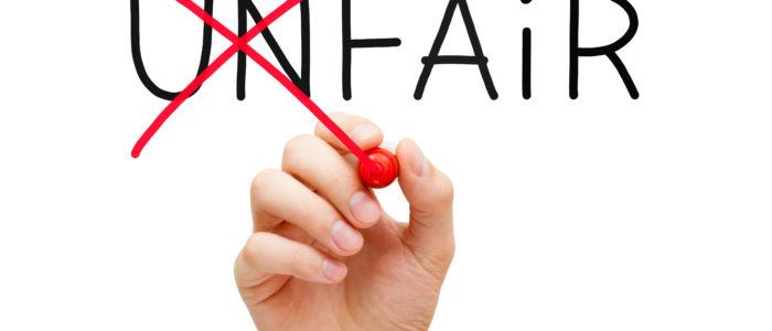 Does fair mean equal