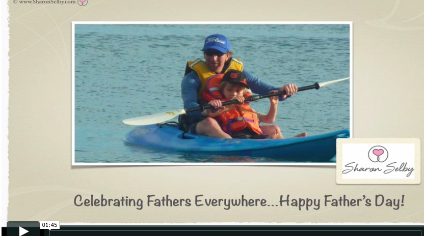 Dad Inspirational Quotes Magnificent SharonSelby Happy Father's Day Video For Dads Everywhere 4848